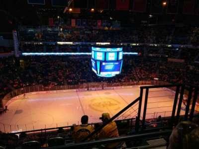 Bridgestone Arena, sección: 324, fila: H, asiento: 3