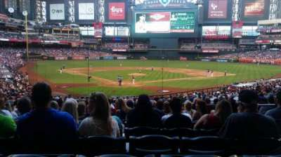 Chase Field, sección: 121, fila: 35, asiento: 4 and 5