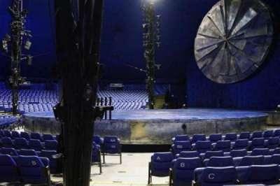 Cirque Du Soleil - Luzia, sección: 104, fila: F, asiento: 1