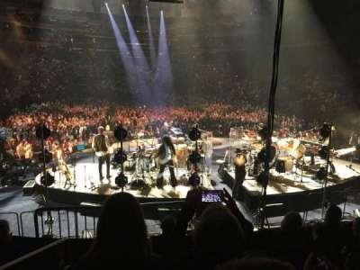 Madison Square Garden, sección: 112, fila: 10, asiento: 1