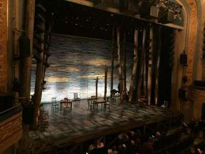 Gerald Schoenfeld Theatre, sección: Left Mezzanine, fila: A, asiento: 13