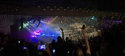 Royal Farms Arena, sección: 307, fila: K, asiento: 11