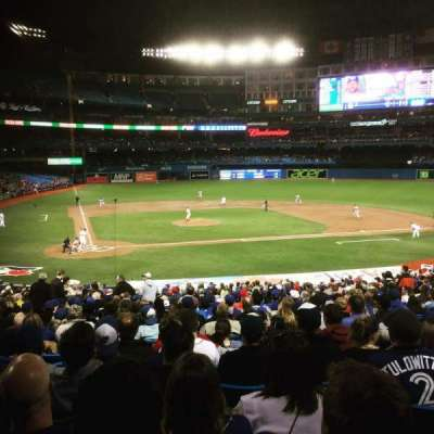 Rogers Centre, sección: 119R, fila: 36, asiento: 7