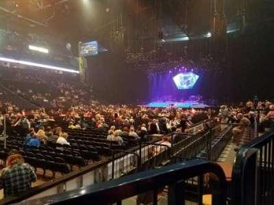 Bridgestone Arena, sección: 103, fila: FF, asiento: 4