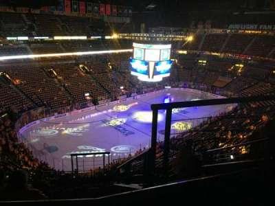 Bridgestone Arena, sección: 305, fila: J, asiento: 2