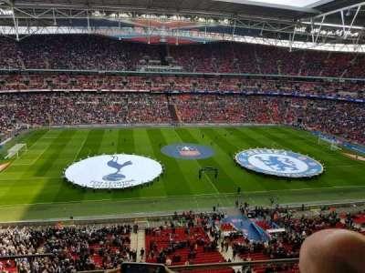 Wembley Stadium, sección: 502, fila: 4, asiento: 482