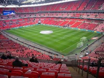 Wembley Stadium, sección: 520, fila: 12, asiento: 198