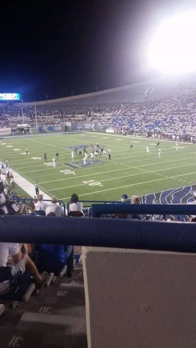 Liberty Bowl Memorial Stadium, sección: 130, fila: 34, asiento: 2