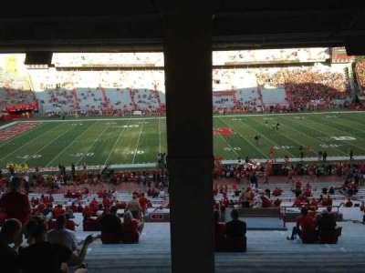 Memorial Stadium, sección: 27, fila: 43, asiento: 16-17-18
