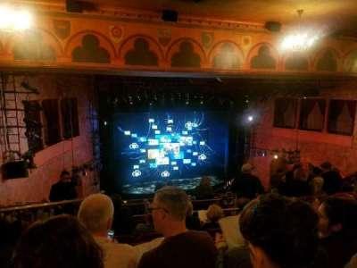 August Wilson Theatre, sección: MezzL, fila: N, asiento: 13