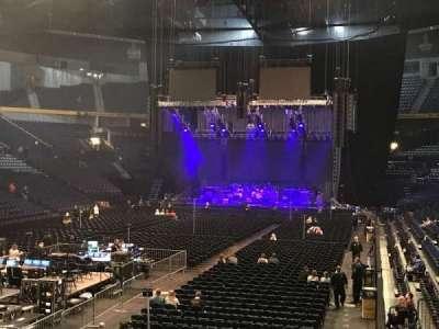 Bridgestone Arena, sección: 102, fila: C, asiento: 19