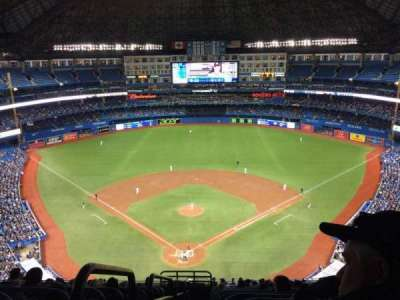Rogers Centre, sección: 524BR, fila: 21, asiento: 1