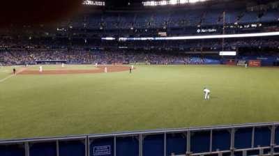 Rogers Centre, sección: 108R, fila: 1, asiento: 14