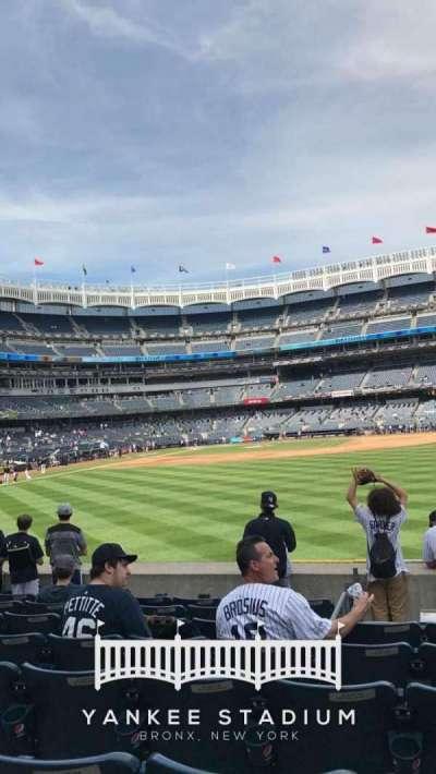 Yankee Stadium sección 104