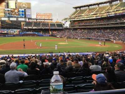 Citi Field, sección: 122, fila: 23, asiento: 11