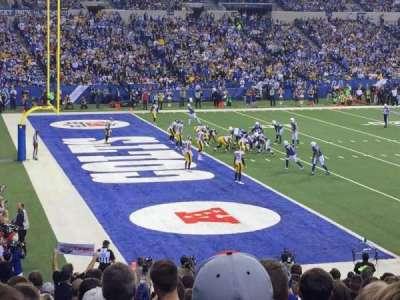 Lucas Oil Stadium, sección: 145, fila: 22, asiento: 12