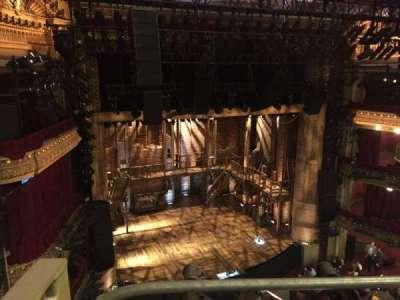 PrivateBank Theatre, sección: Balcony L, fila: A, asiento: 1