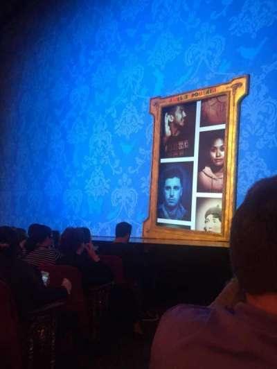 Walter Kerr Theatre, sección: Right Orch, fila: E, asiento: 2