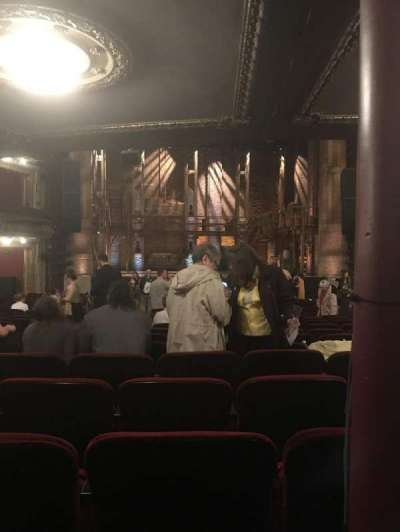 PrivateBank Theatre, sección: Orchestra C, fila: X, asiento: 107