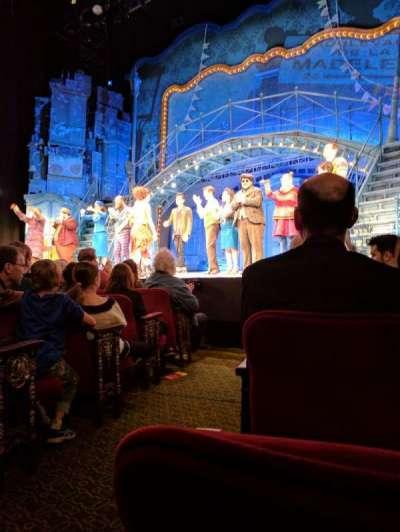 Walter Kerr Theatre, sección: ORCH, fila: F