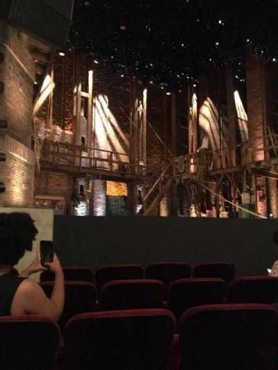 PrivateBank Theatre, sección: Orch-L, fila: F, asiento: 13