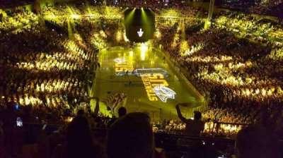 Bridgestone Arena, sección: 301, fila: H, asiento: 12