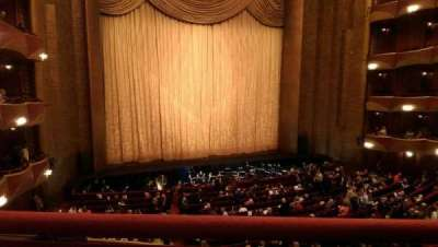 Metropolitan Opera House - Lincoln Center, sección: Grand Tier, fila: A, asiento: 7