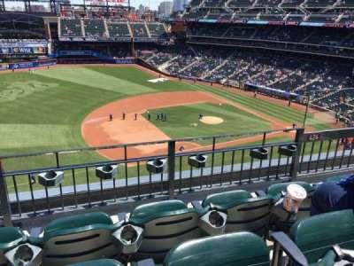 Citi Field, sección: 424, fila: 3, asiento: 5