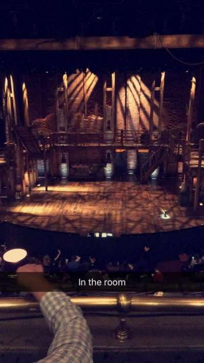 PrivateBank Theatre, sección: Mezzanine RC, fila: B, asiento: 302