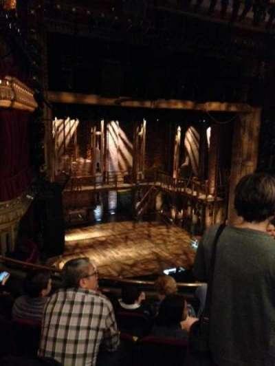 PrivateBank Theatre, sección: Mezzanine L, fila: E, asiento: 9