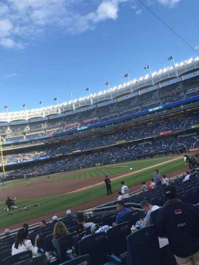 Yankee Stadium sección 127b