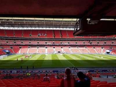 Wembley Stadium, sección: 123, fila: 43, asiento: 27