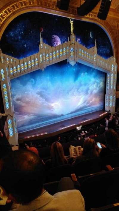 Eugene O'Neill Theatre, sección: MezzL, fila: D, asiento: 23