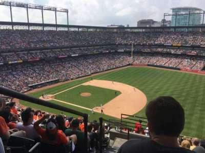 Oriole Park at Camden Yards, sección: 312, fila: 19, asiento: 22