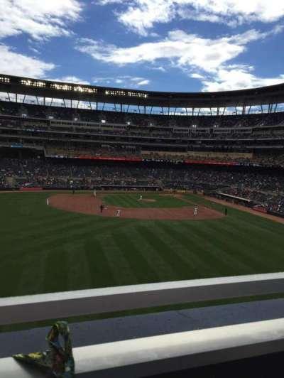 Target Field, sección: 231, fila: 1, asiento: 19