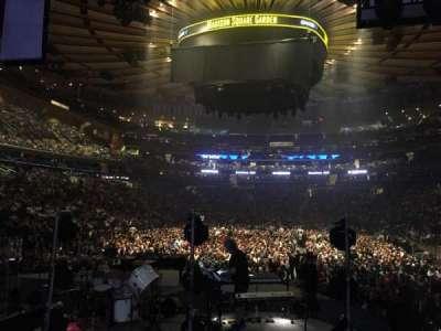 Madison Square Garden, sección: 113, fila: 7, asiento: 1