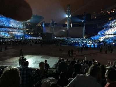 Soldier Field, sección: 121, fila: 12, asiento: 14