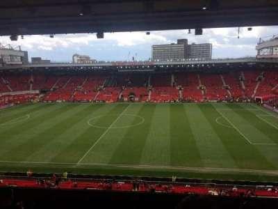 Old Trafford, sección: N3416, fila: 10, asiento: 22