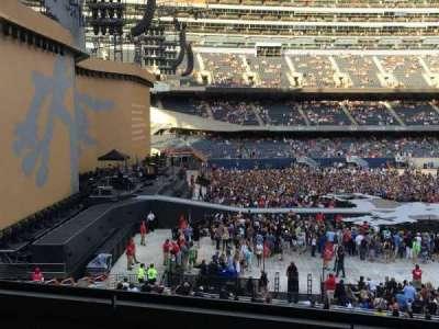 Soldier Field, sección: 243, fila: 5, asiento: 17