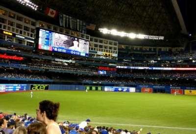 Rogers Centre, sección: 139R, fila: 18, asiento: 1