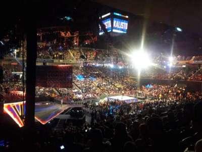 Royal Farms Arena, sección: 201, fila: J, asiento: 1