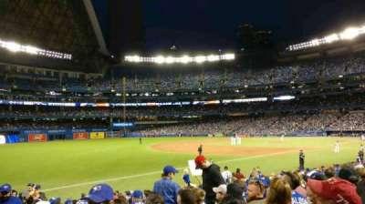 Rogers Centre, sección: 130BR, fila: 18, asiento: 1