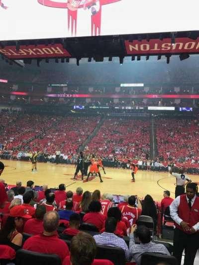 Toyota Center, sección: 120, fila: 5, asiento: 2