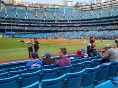 Rogers Centre, sección: 134al, fila: 6, asiento: 111