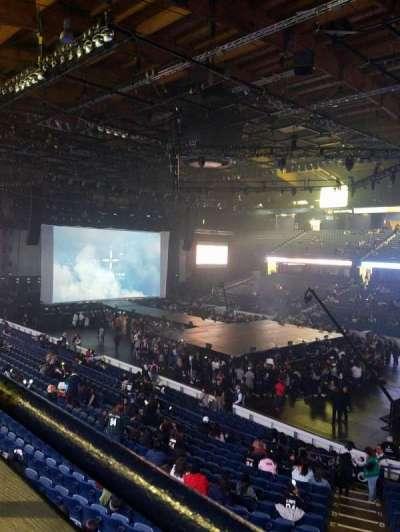 Allstate Arena, sección: 201, fila: A, asiento: 3