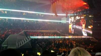 Honda Center, sección: 222, fila: P, asiento: 3