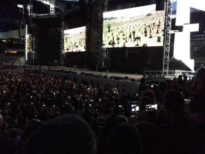Soldier Field, sección: 104, fila: 4, asiento: 6