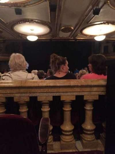 Palace Theatre (Broadway), sección: Orchestra, fila: ZZ, asiento: 115
