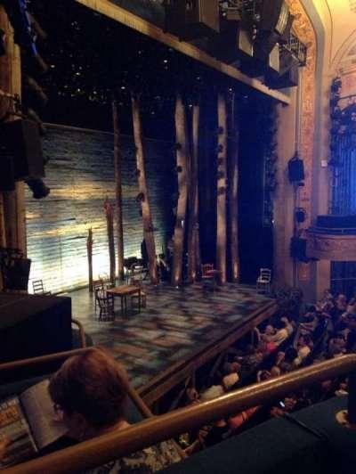 Gerald Schoenfeld Theatre, sección: Box, fila: F, asiento: 2