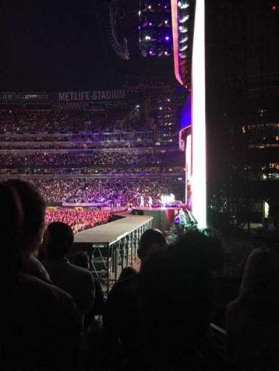 MetLife Stadium, sección: 109, fila: 6, asiento: 22